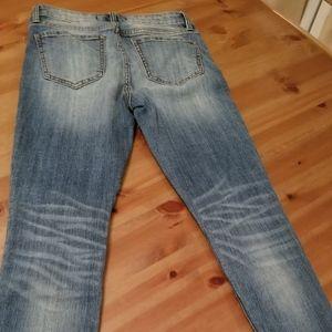 Skinny Jeans Zipper ankle